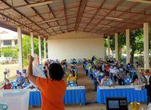 การฝึกอบรมเจ้าพนักงานผู้ดำเนินการเลือกตั้งประจำหน่วยเลือกตั้ง (จพง.ปน.) วันที่ 2